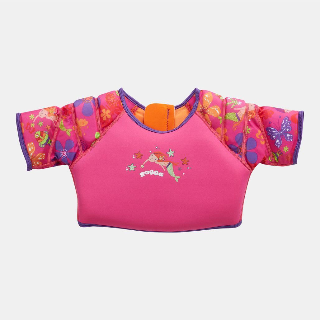 Zoggs Kids' Mermaid Flower Water Wing Swim Vest