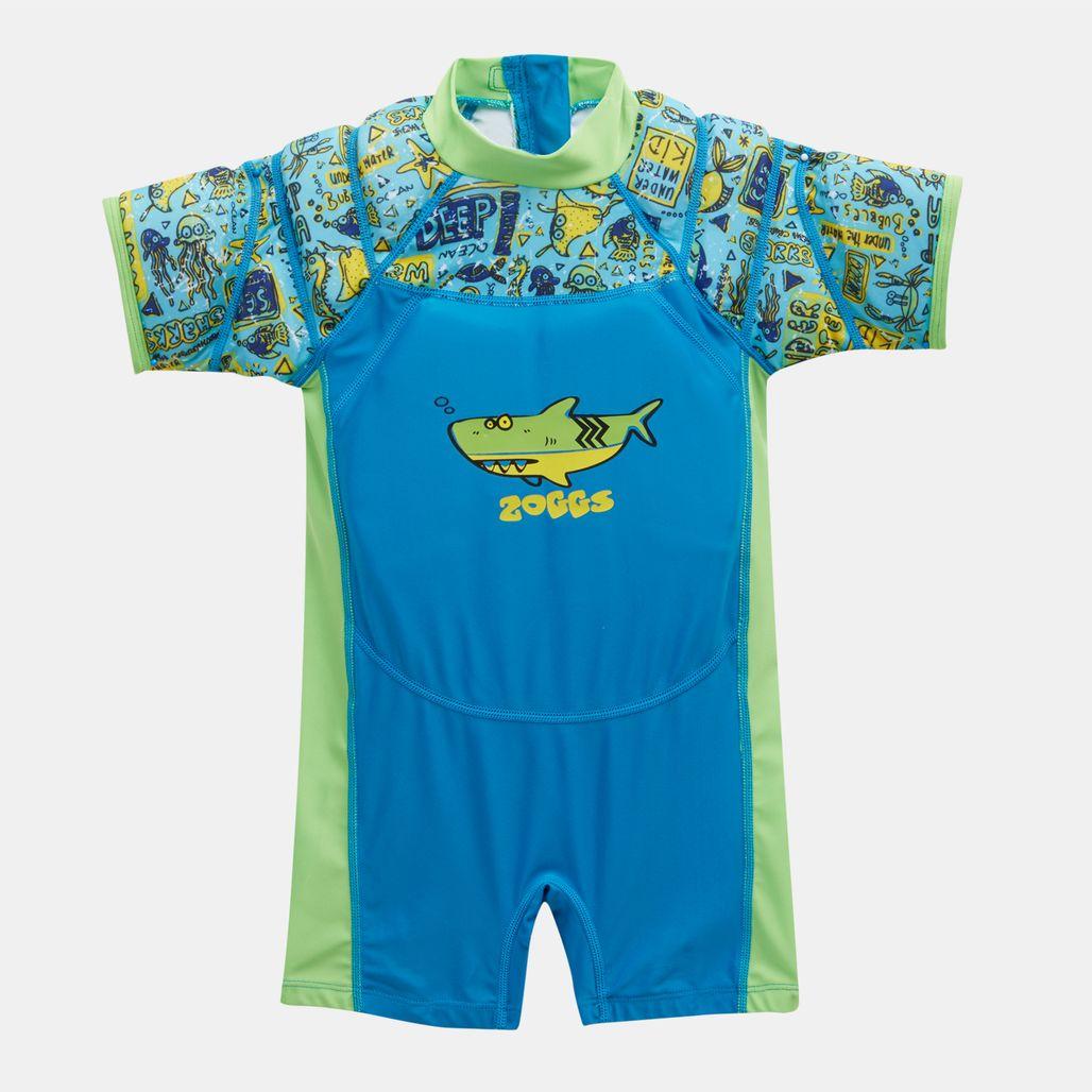 بدلة السباحة ديب سي وينج العائمة من زوجز للاطفال