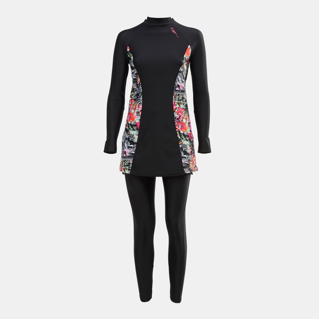 Zoggs Latino Love Panelled Modesty Suit