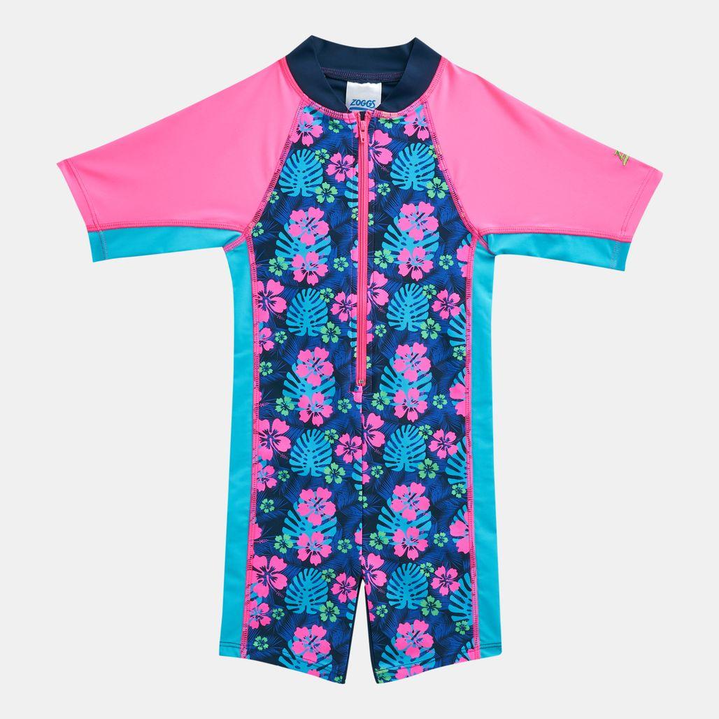 Zoggs Kids' Kona All-In-One Zip Suit (Younger Kids)