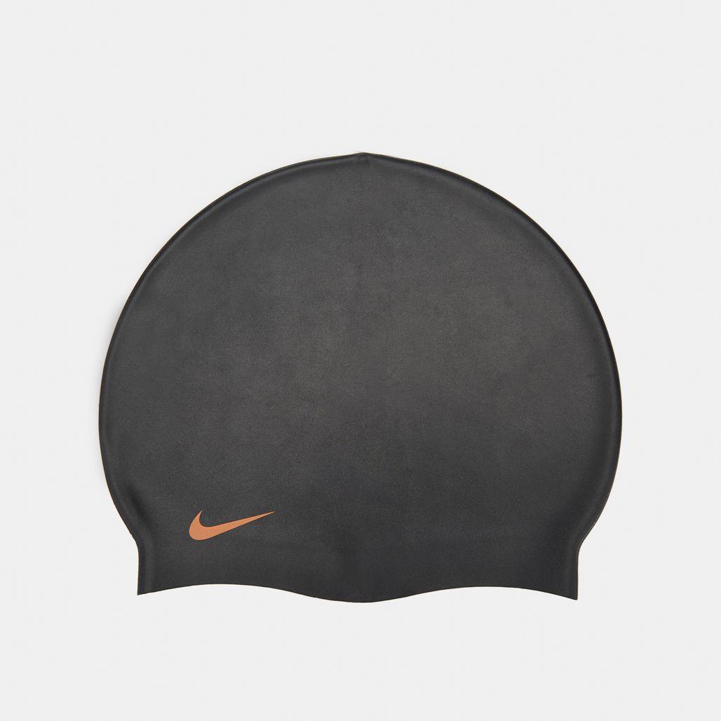 Nike Swim Solid Silicone Cap - Black