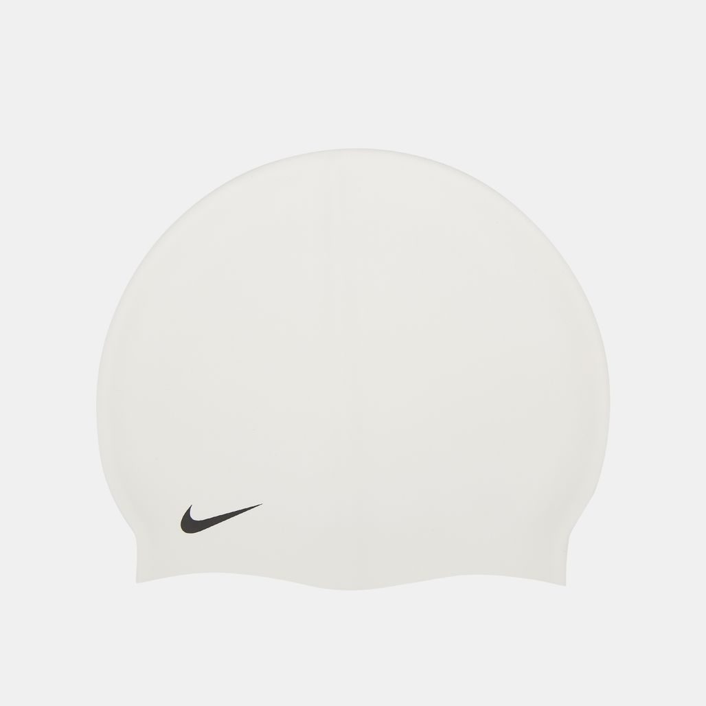 Nike Swim Solid Silicone Cap - White