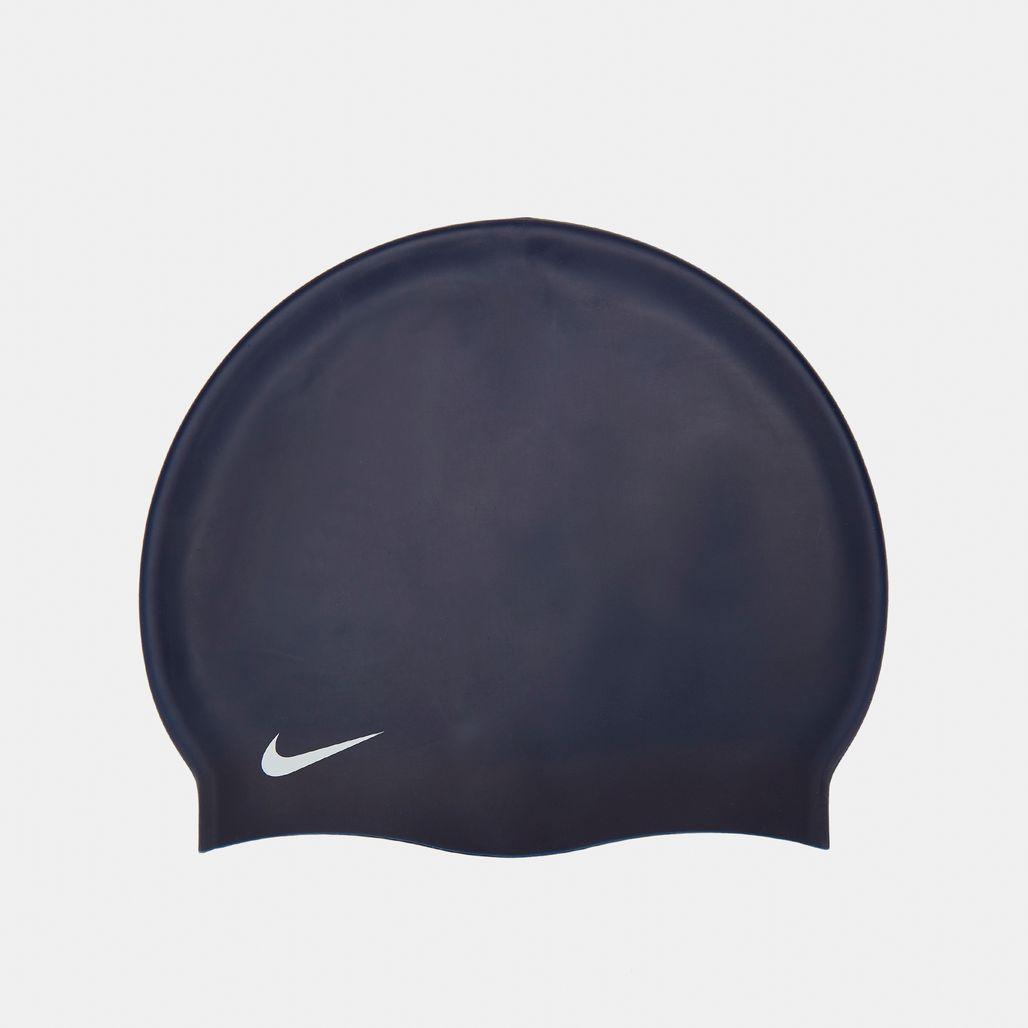 Nike Swim Solid Silicone Cap - Blue