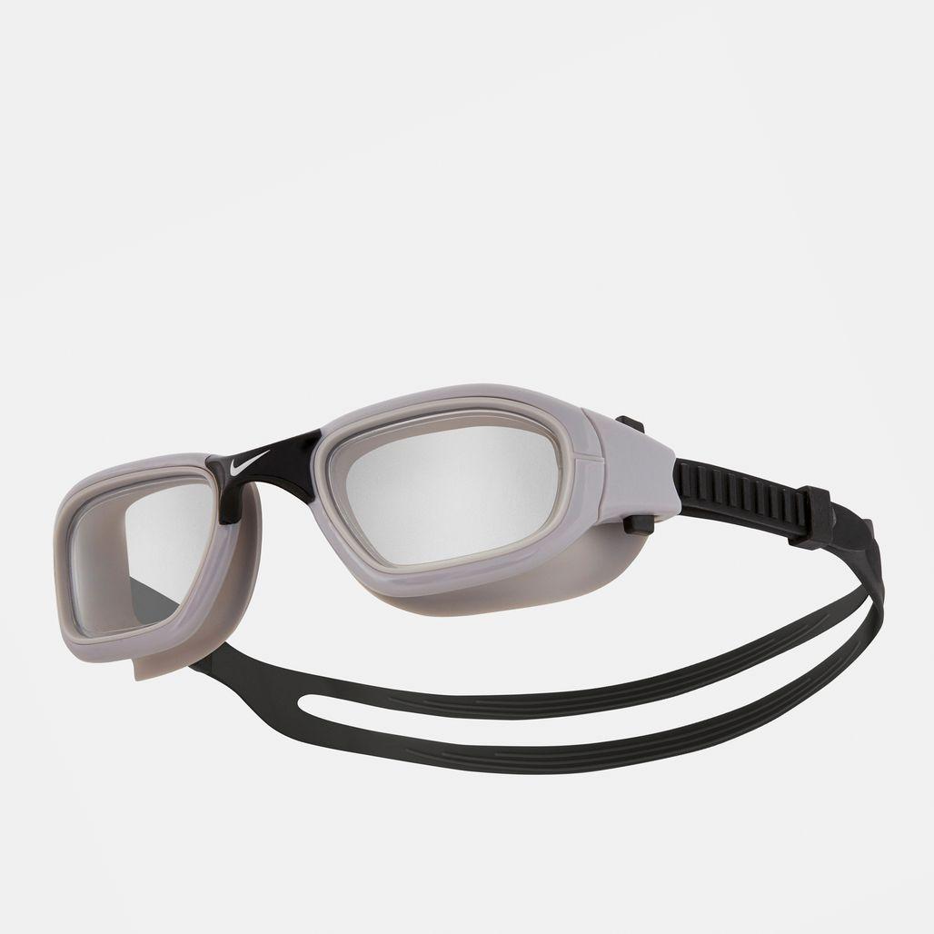 Nike Swim One-Piece Frame Training Goggles - Grey