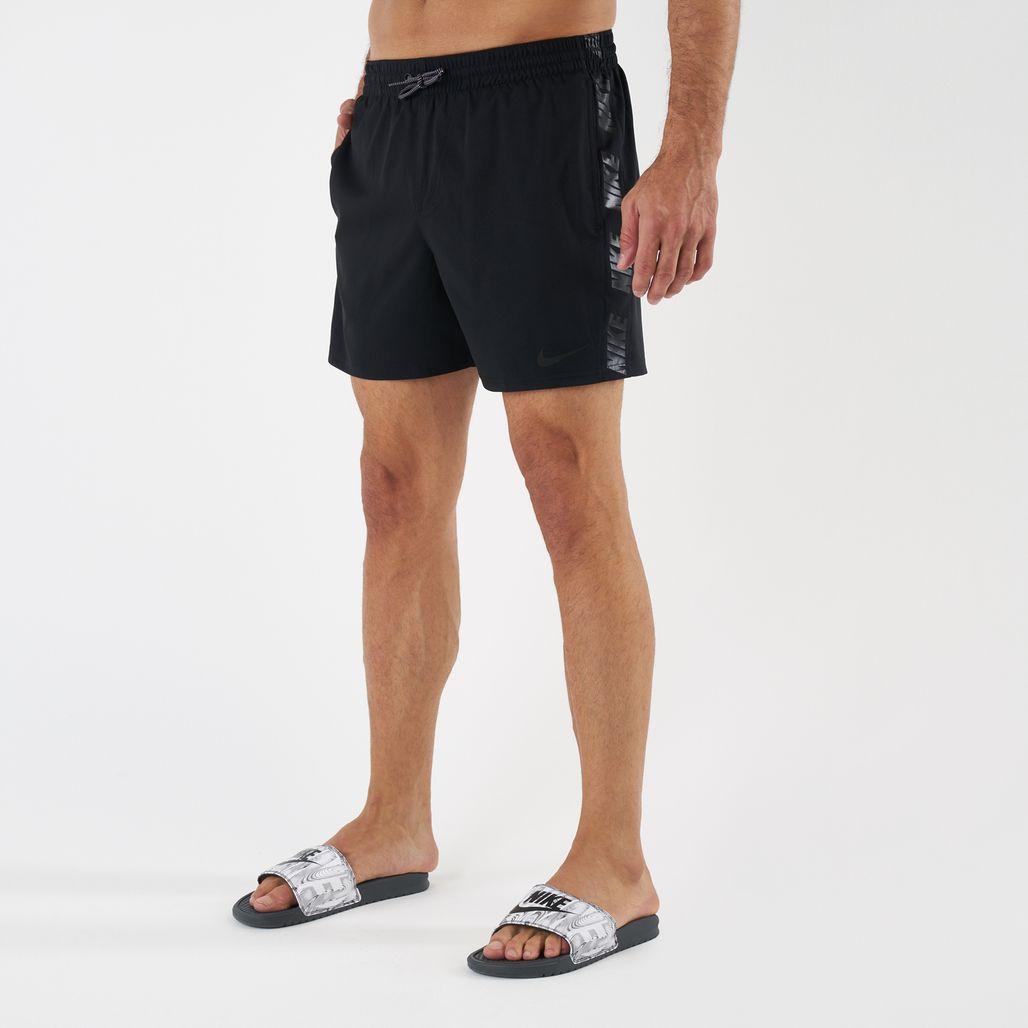 Nike Swim Men's Logo Splice Racer 5 Inch Boadshorts