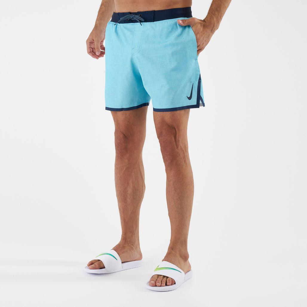 Nike Swim Men's Linen Blade 5 Inch Boardshorts