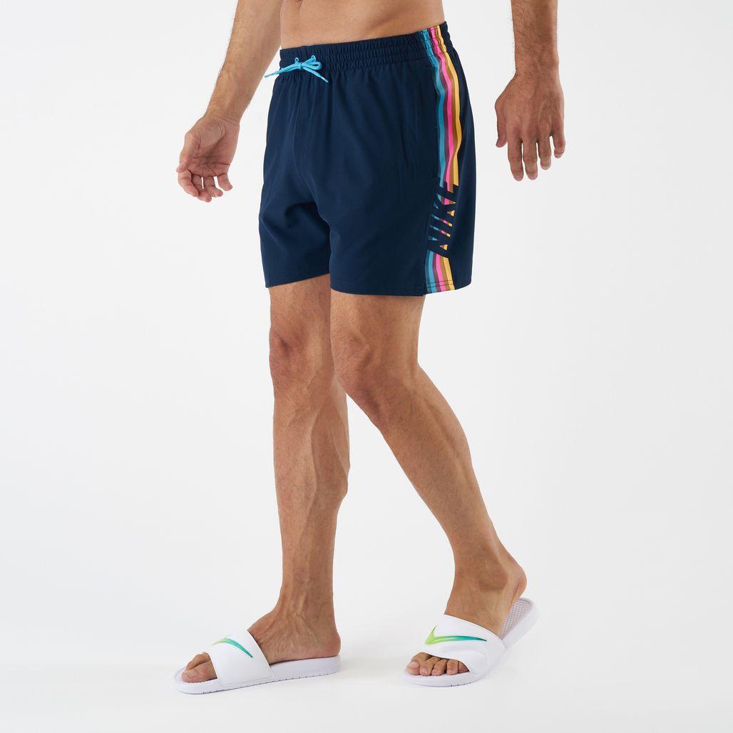 Nike Swim Men's Retro Stripe Racer 9 Inch Boardshorts