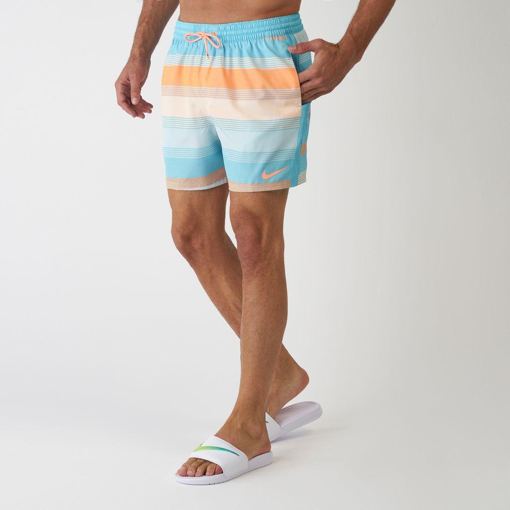 Nike Swim Men's 6:1 Linen Racer Boardshorts