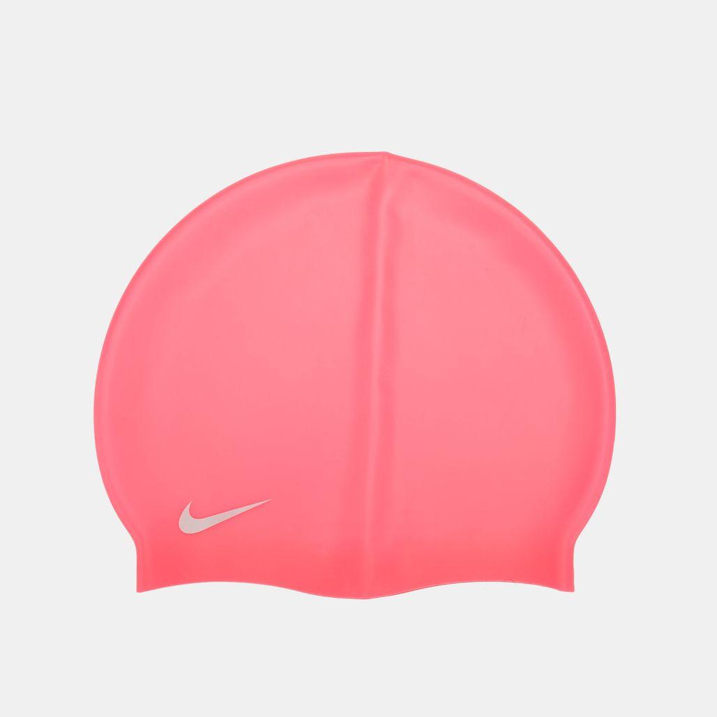 Nike Swim Kids' Solid Silicone Cap (Older Kids) - Pink