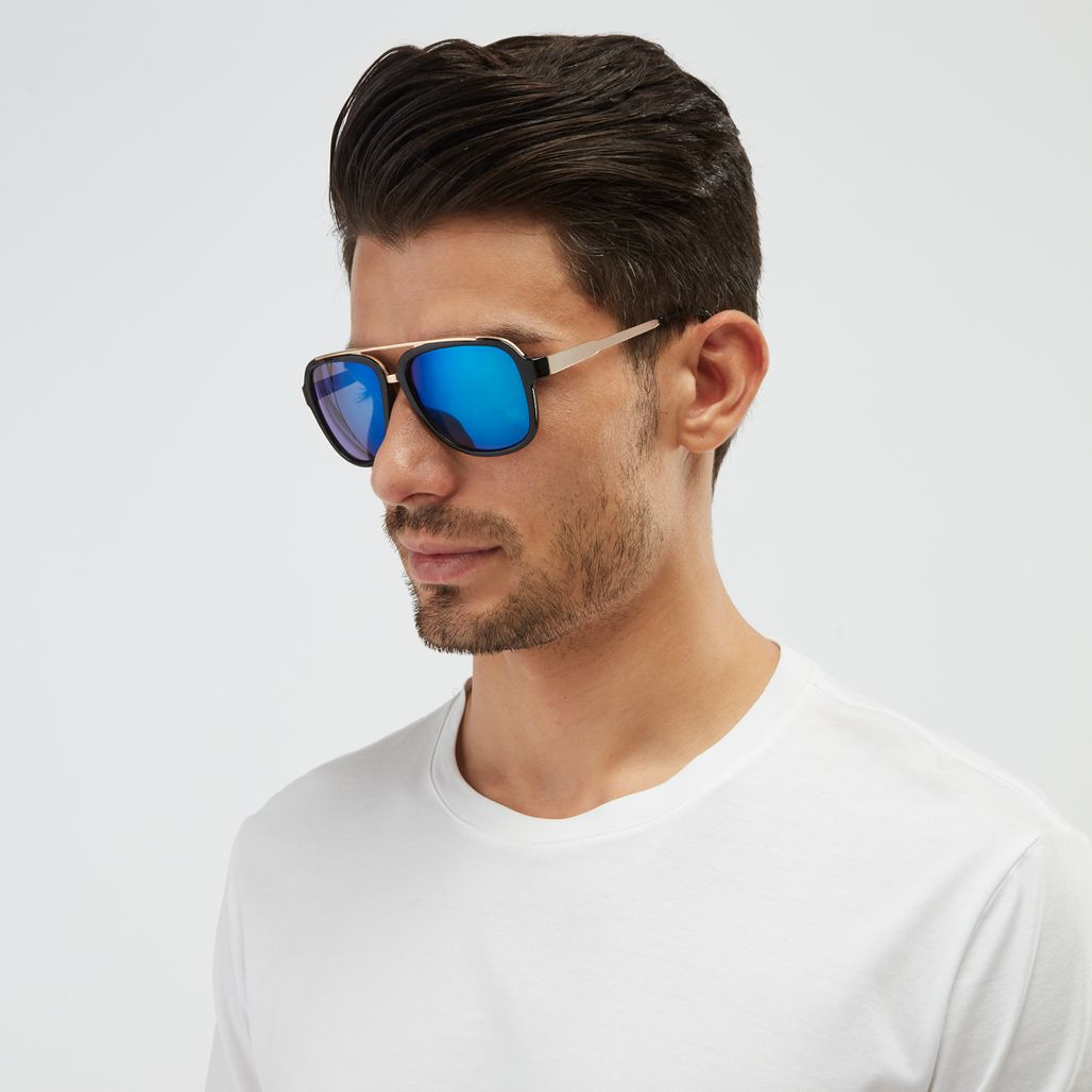 Jeepers Peepers Retro Sunglasses - Blue
