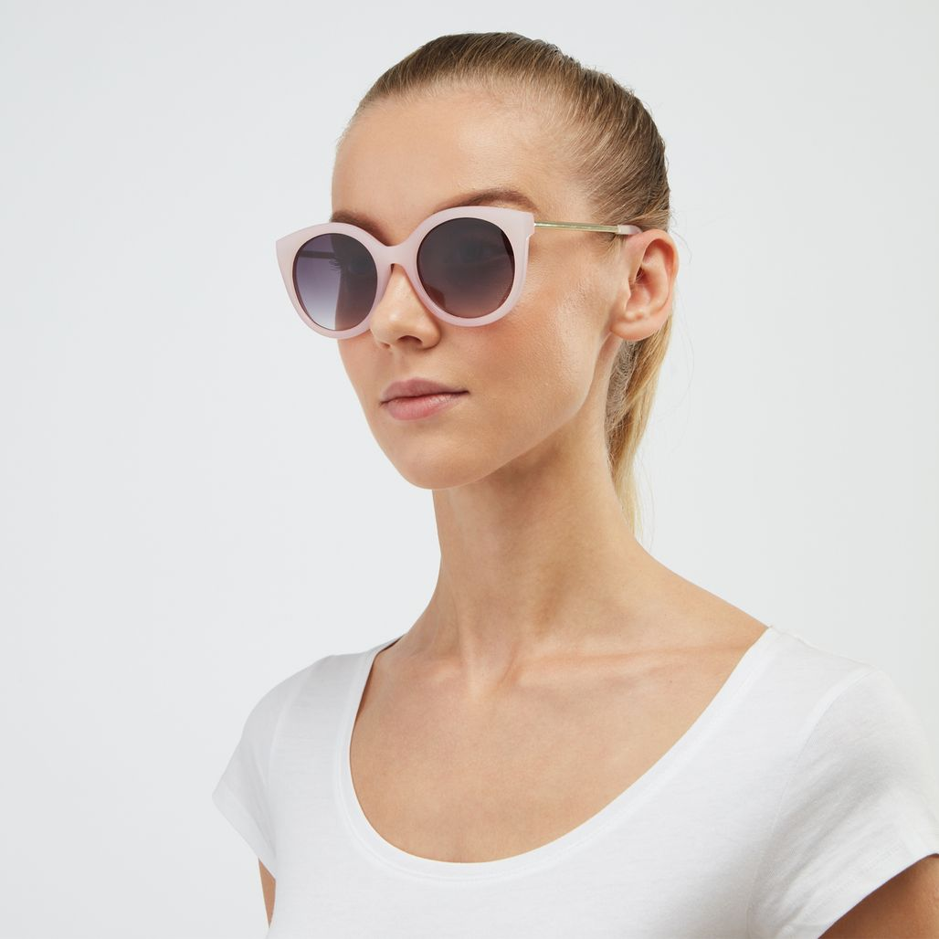 Jeepers Peepers Cat Eye Sunglasses - Pink
