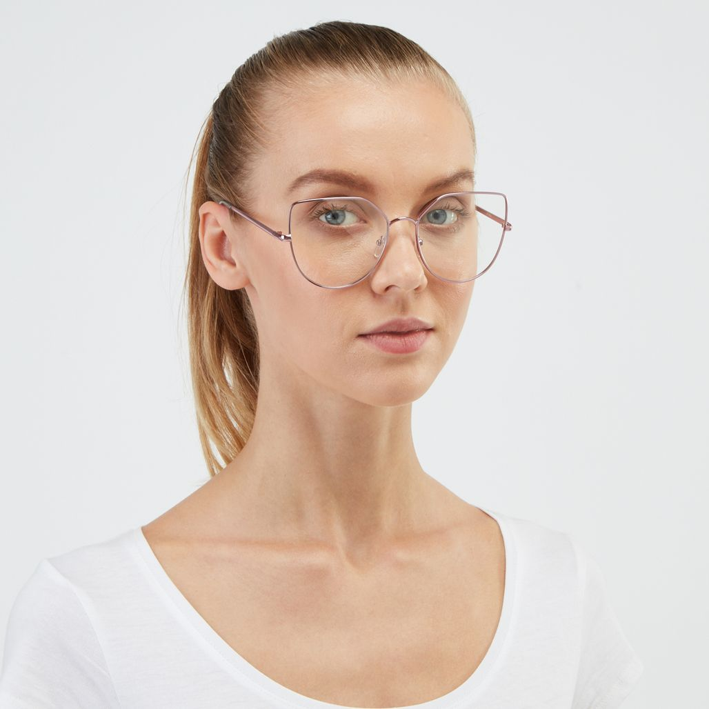 Jeepers Peepers Cat Eye Glasses - Pink