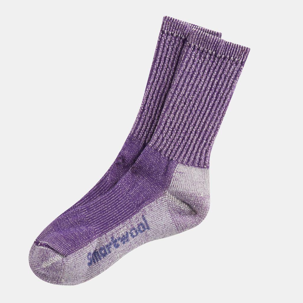 Smartwool Women's Hike Light Crew Socks - Purple