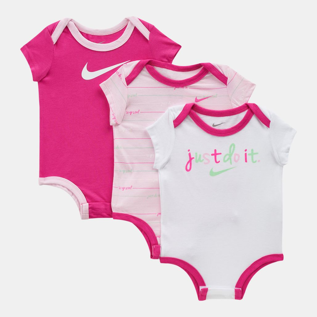 Nike Kids' JDI 3-Piece Bodysuit Set (Baby and Toddler)