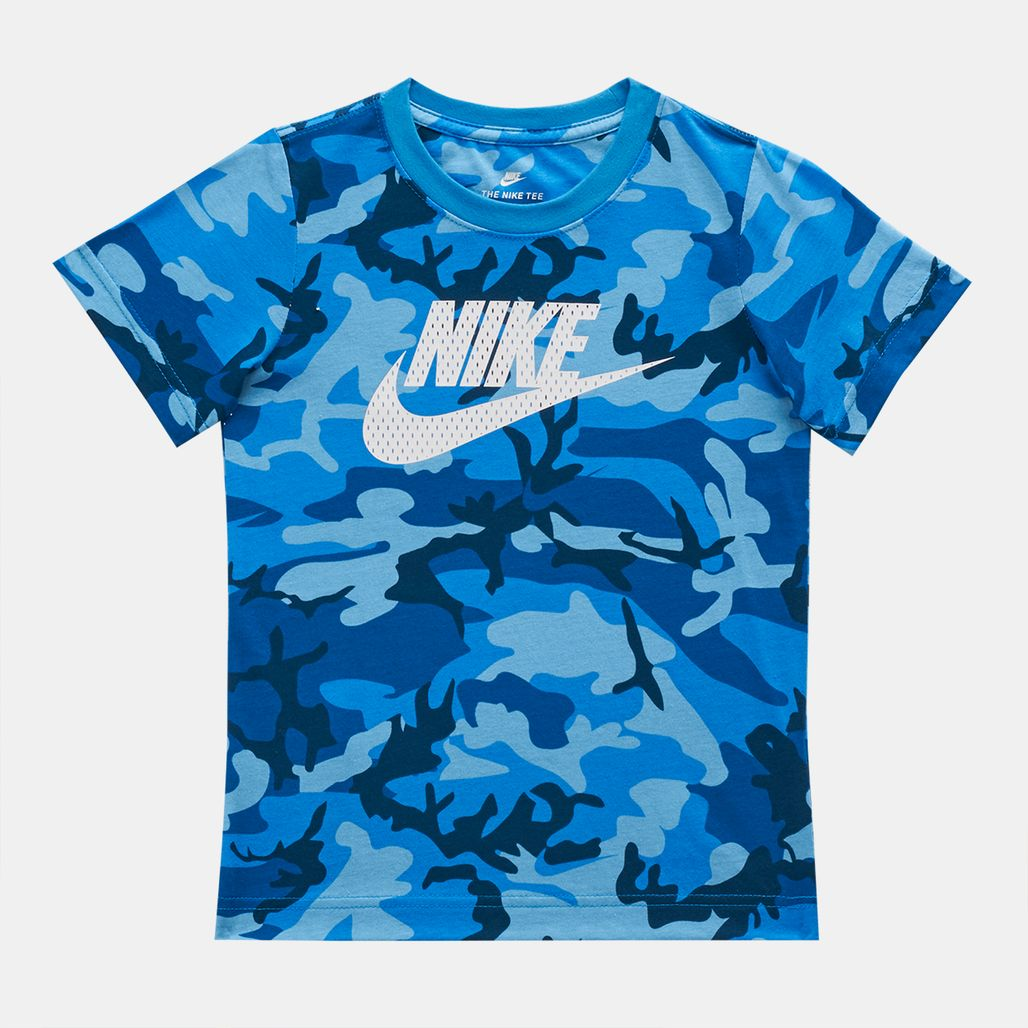 Nike Kids' Mesh Futura Camo Knit T-Shirt (Younger Kids)