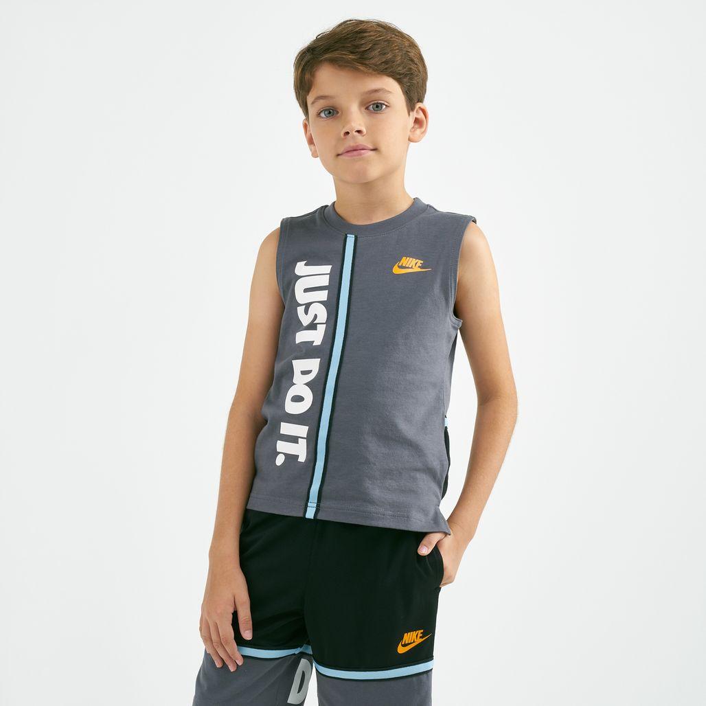 Nike Sportswear Just Do It Jersey T-Shirt (Younger Kids)