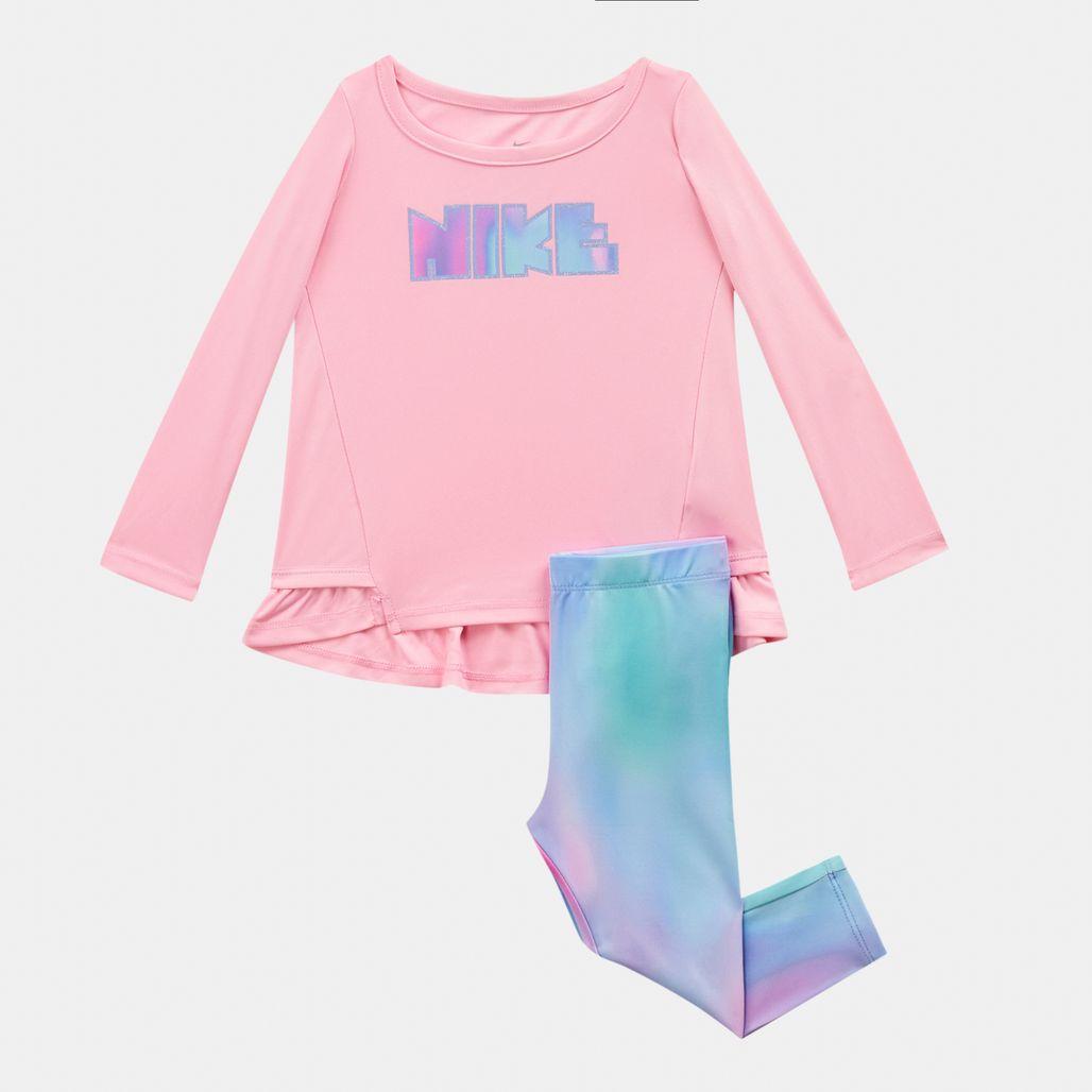 Nike Kids' Peplum Tunic and Leg Set (Baby and Toddler)