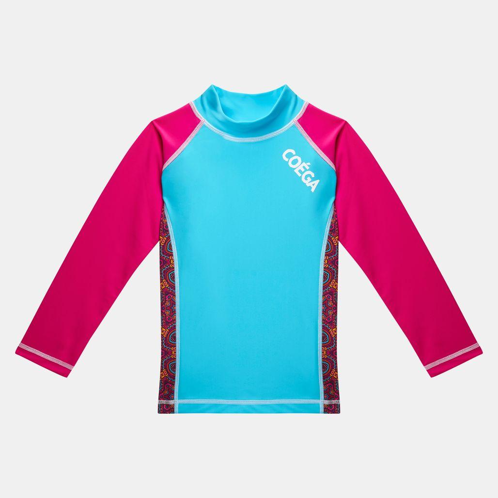 COÉGA Kids' Long Sleeve Rashguard Swimshirt