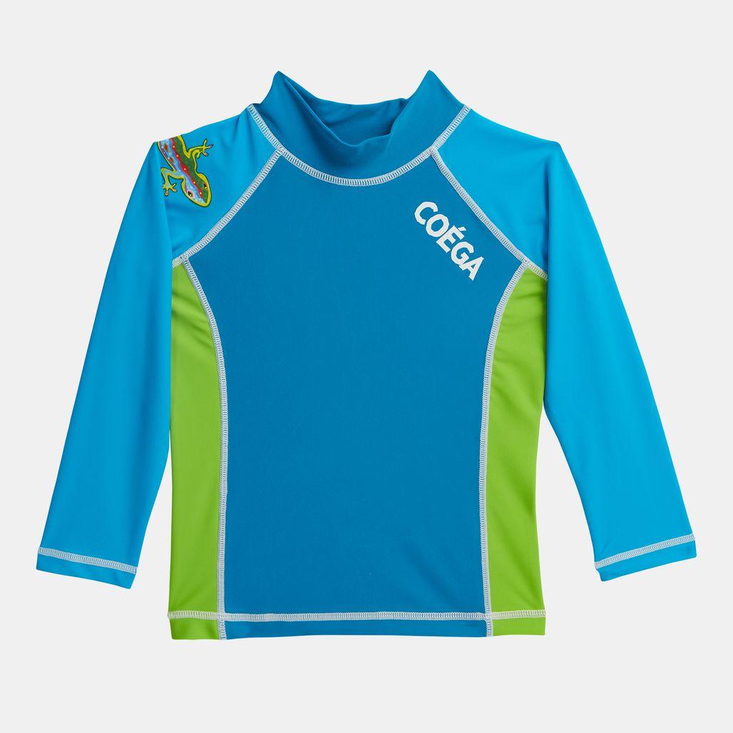 COÉGA Kids' Long-Sleeve Rashguard Swimshirt