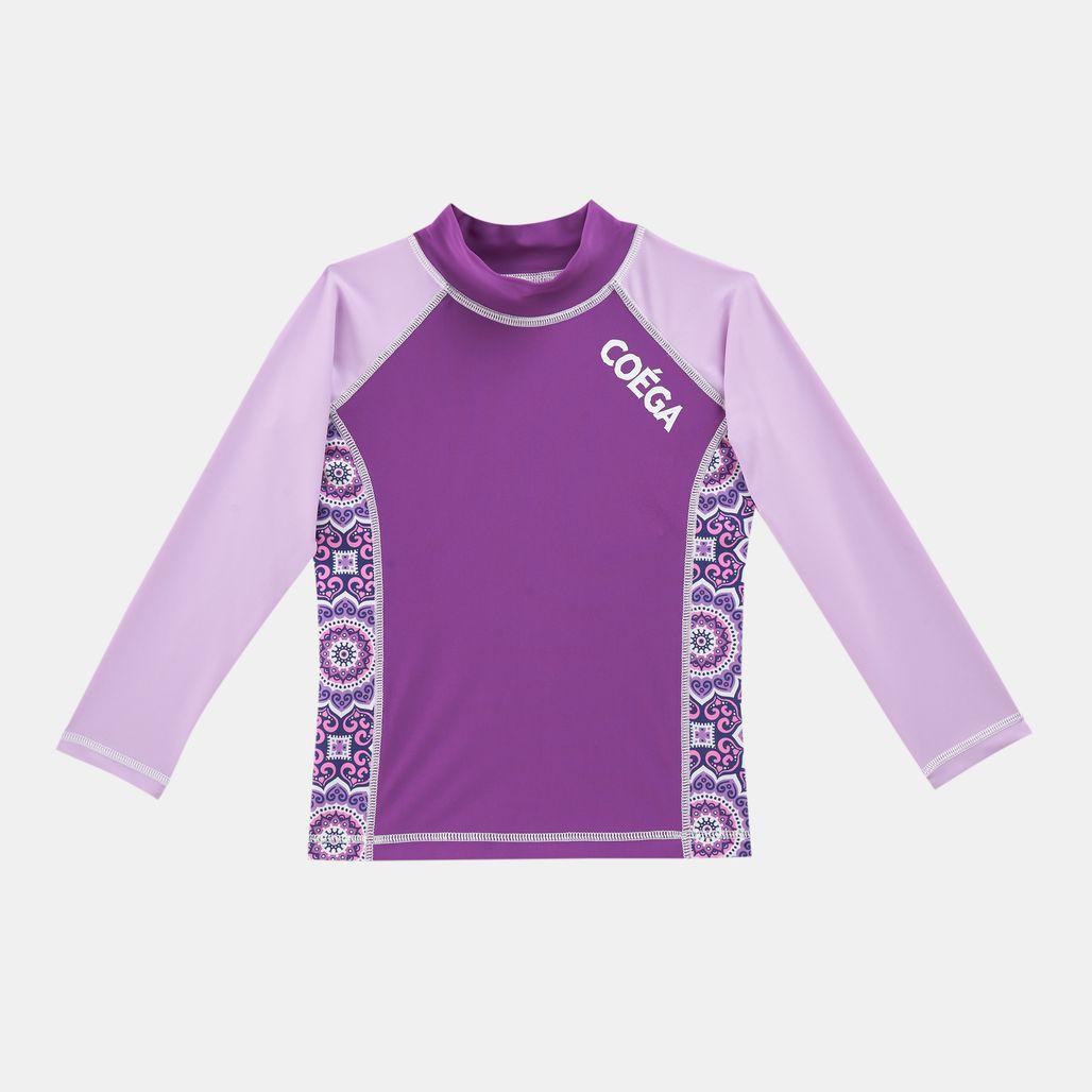 COEGA Kids' Long Sleeve Rashguard Swimshirt