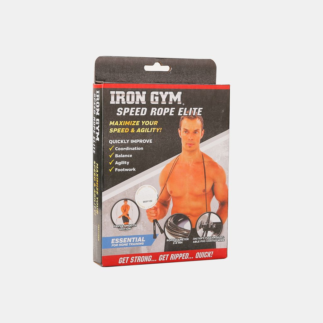 Iron Gym Adjustable Speed Rope - Multi