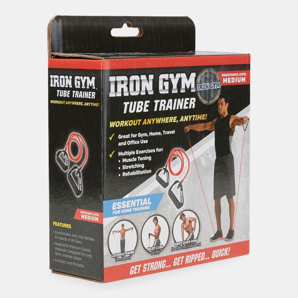 IronGym Tube Trainer - Black