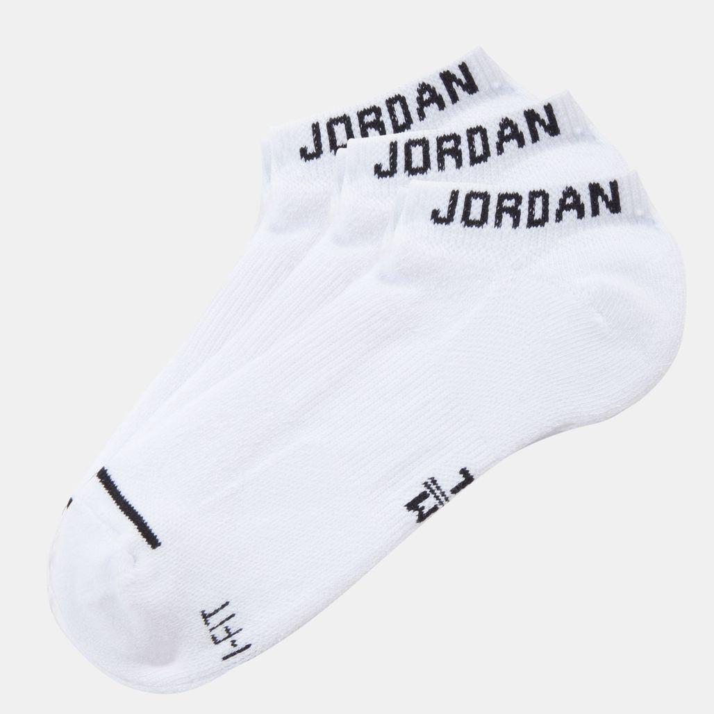 Nike Jumpman No-Show 3 Pair Socks