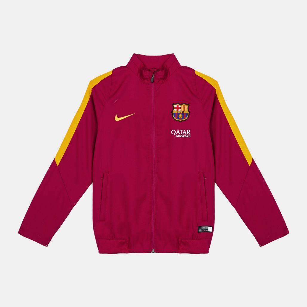 Nike Kids' FC Barcelona Revolution B Woven Tracksuit (Younger Kids)