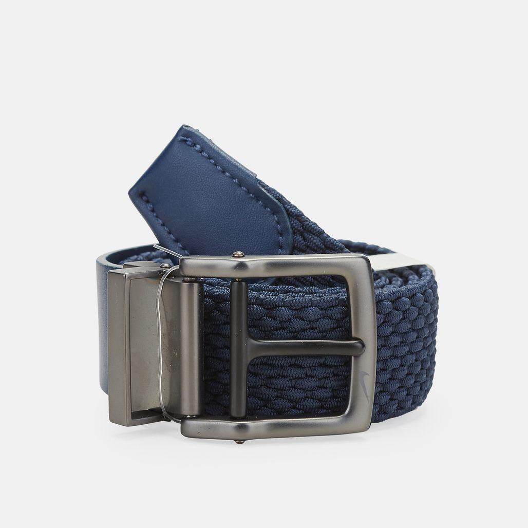 Nike Golf Stretch Woven Belt - Blue