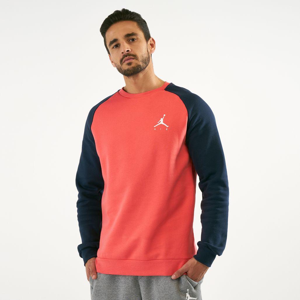 Jordan Men's Jumpman Fleece Crew Sweatshirt
