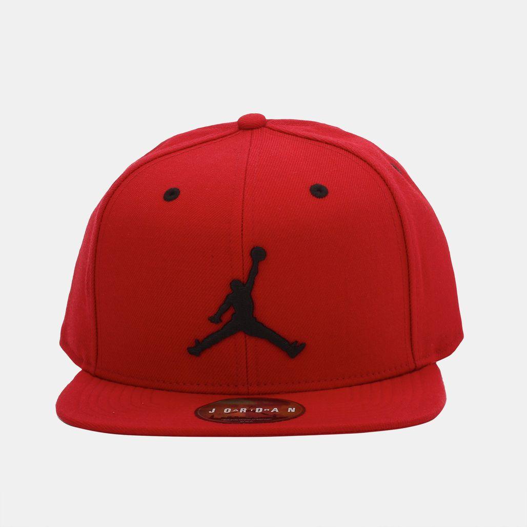 cc4c33a66d5b Shop Red Jordan Jumpman Snapback Cap for Unisex by Jordan