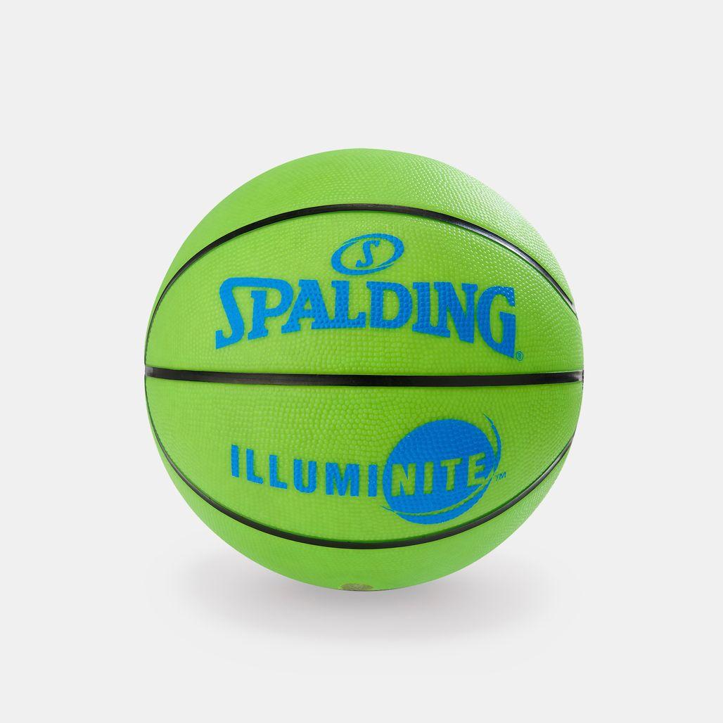 كرة السلة إلومي-نايت من سبولدينج للرجال - متعدد