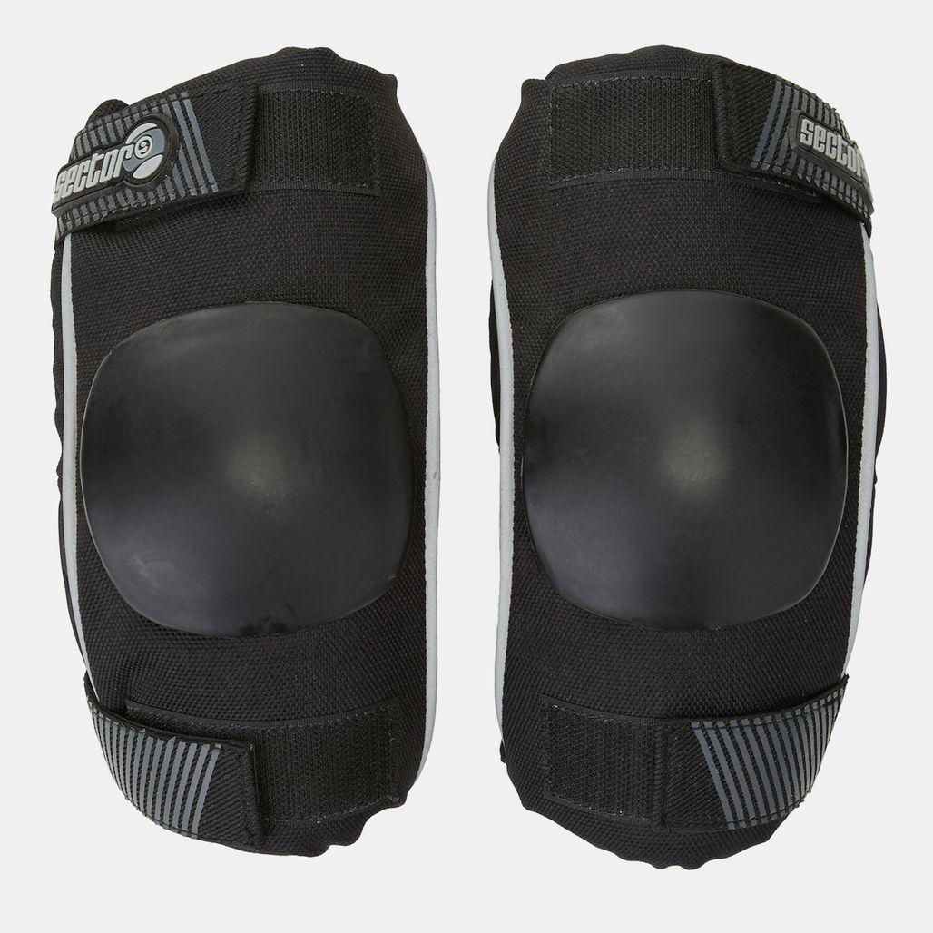 Sector 9 Momentum Elbow Slide Pads - Black