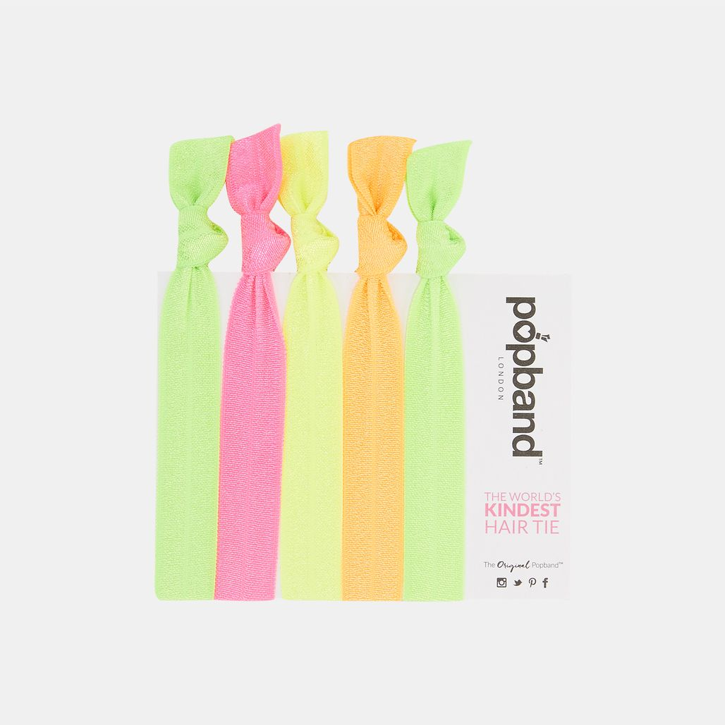 Popband Glo Hairbands (5 Pack) - Multi