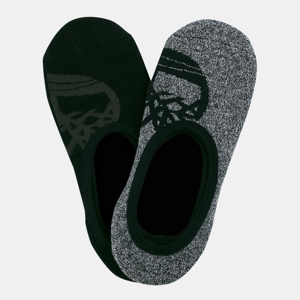 Timberland Men's Tree-Logo Liner Socks (2 Pack)