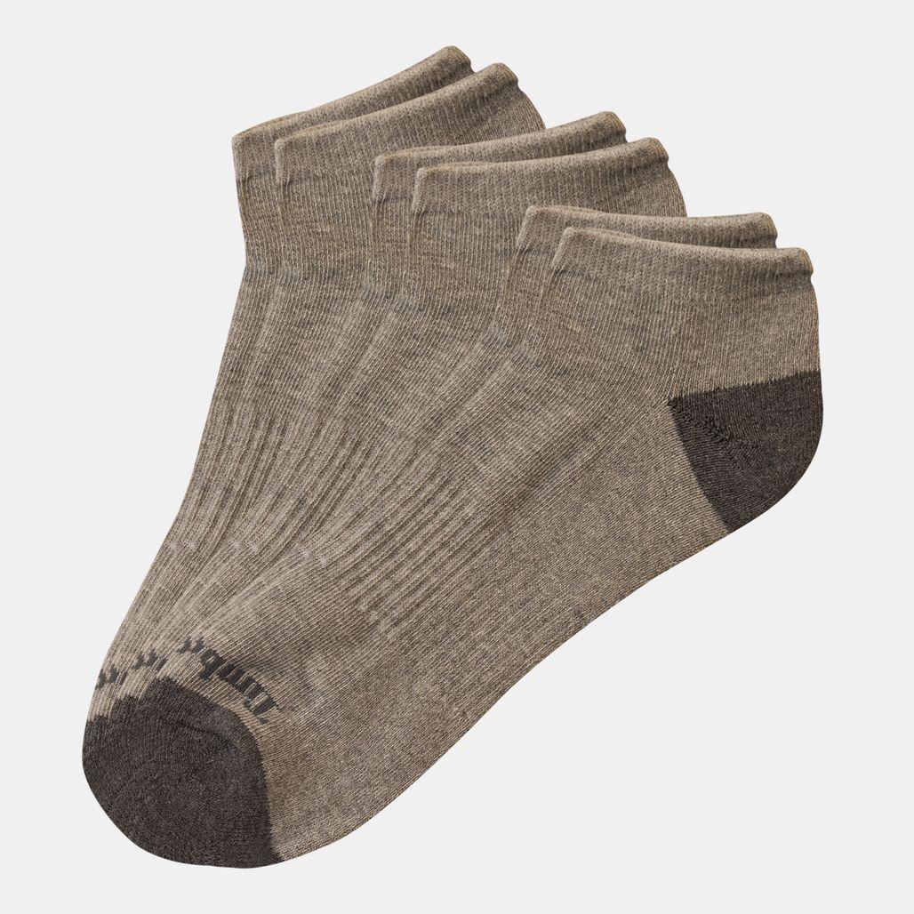 Timberland Men's No-Show Essential Socks (3 Pack) - Grey