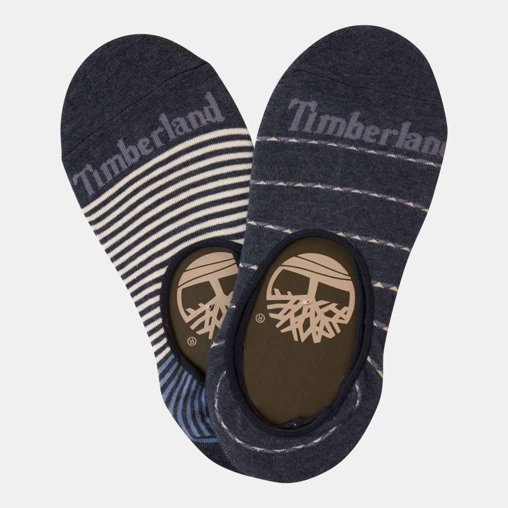 Timberland Women's Striped Liner Socks (2 Pack)