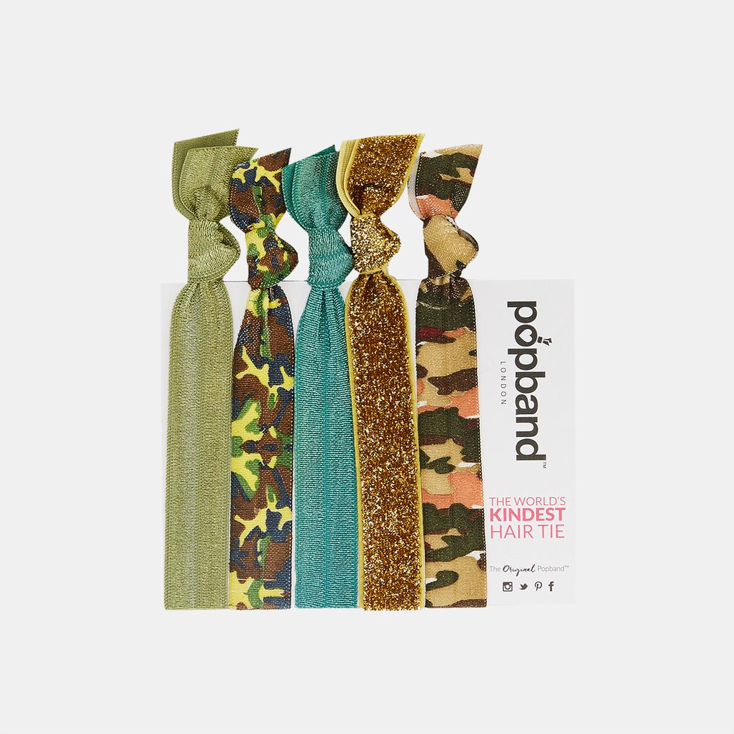 Popband GI Jane Hairbands (5 Pack) - Green