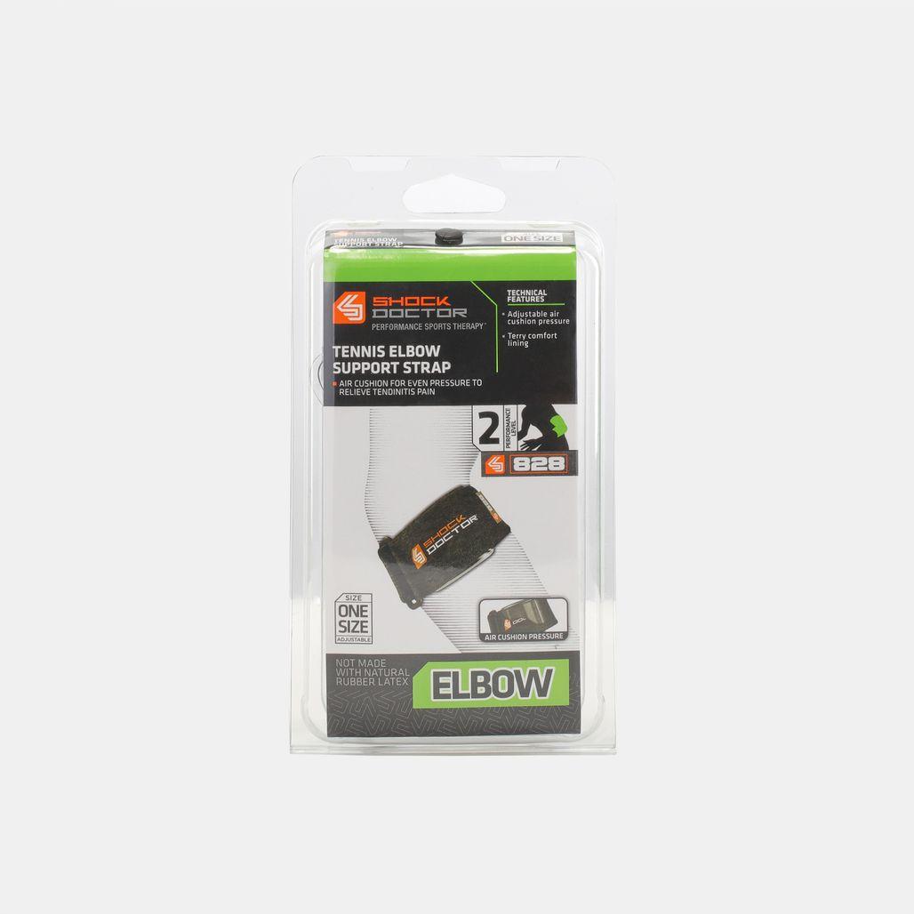 Shock Doctor Tennis Elbow Support Strap - Black
