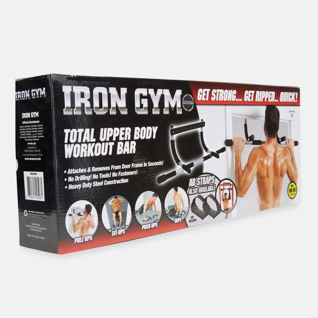 Iron Gym Bar - Black