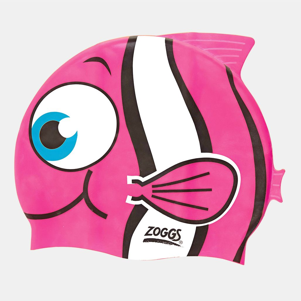 Zoggs Kids' Junior Character Silicone Cap (Younger Kids) - Pink