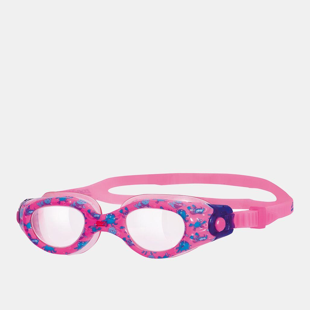 نظارات سباحة ليتل مس زوجي من زوجز للاطفال الصغار - متعدد