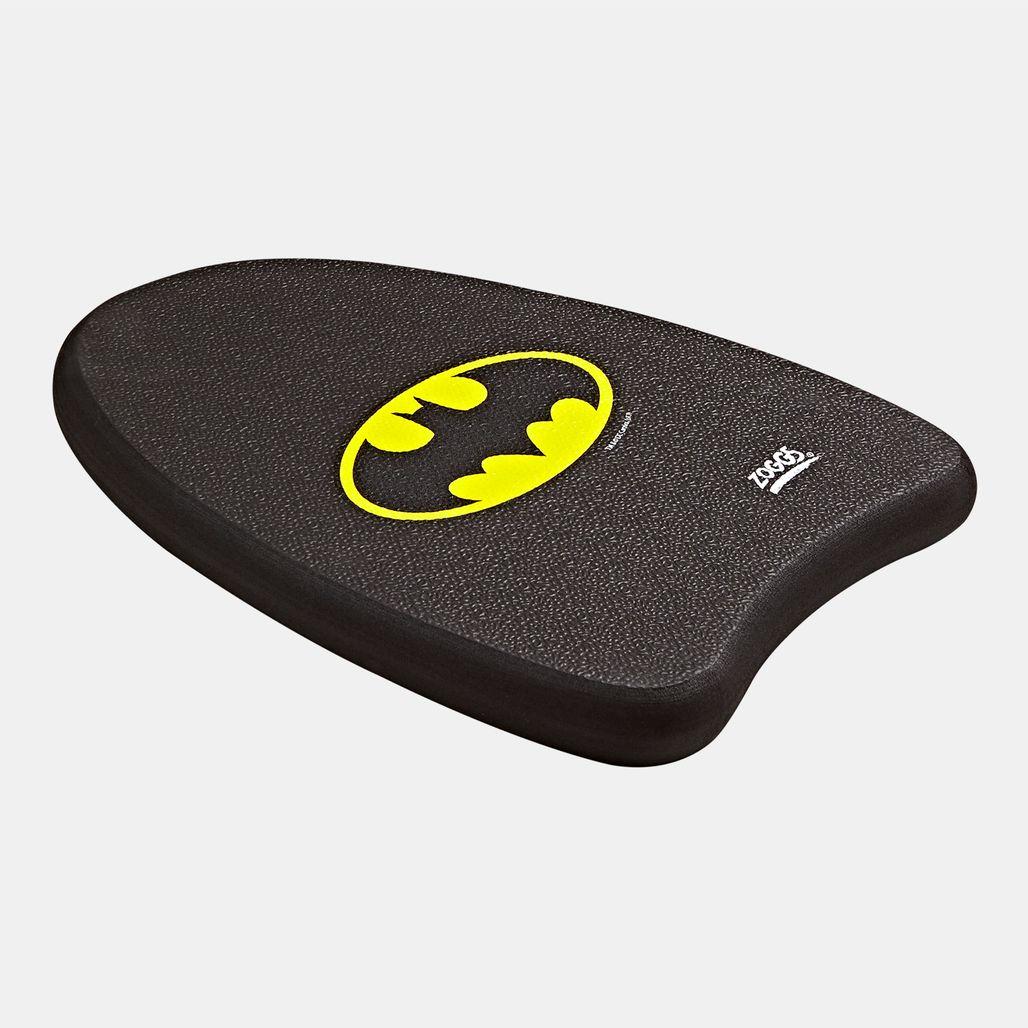 دفة سباحة دي سي سوبر هيروز جونيور باتمان من زوجز للاطفال الكبار - أسود