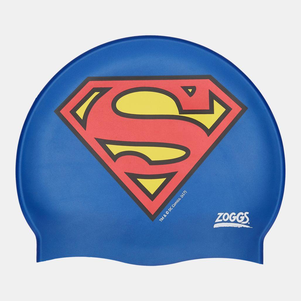 Zoggs Kids' Silicone Cap - Blue