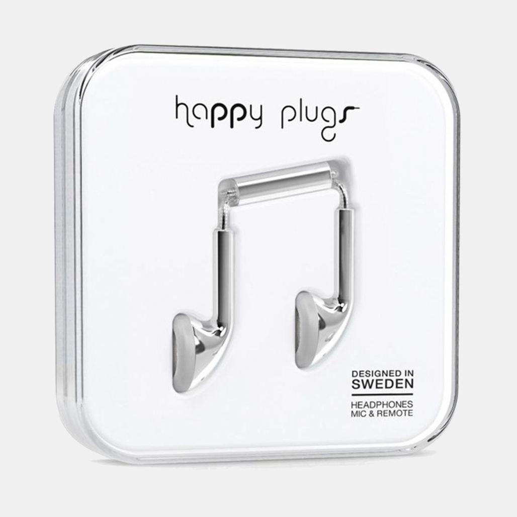 Happy Plugs Earbuds - Metallic
