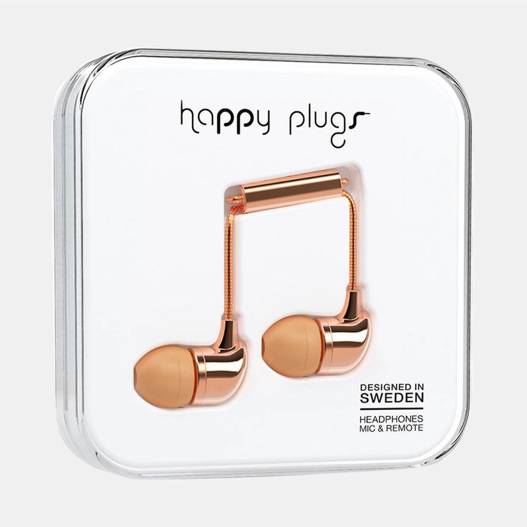 Happy Plugs Earbuds - Pink