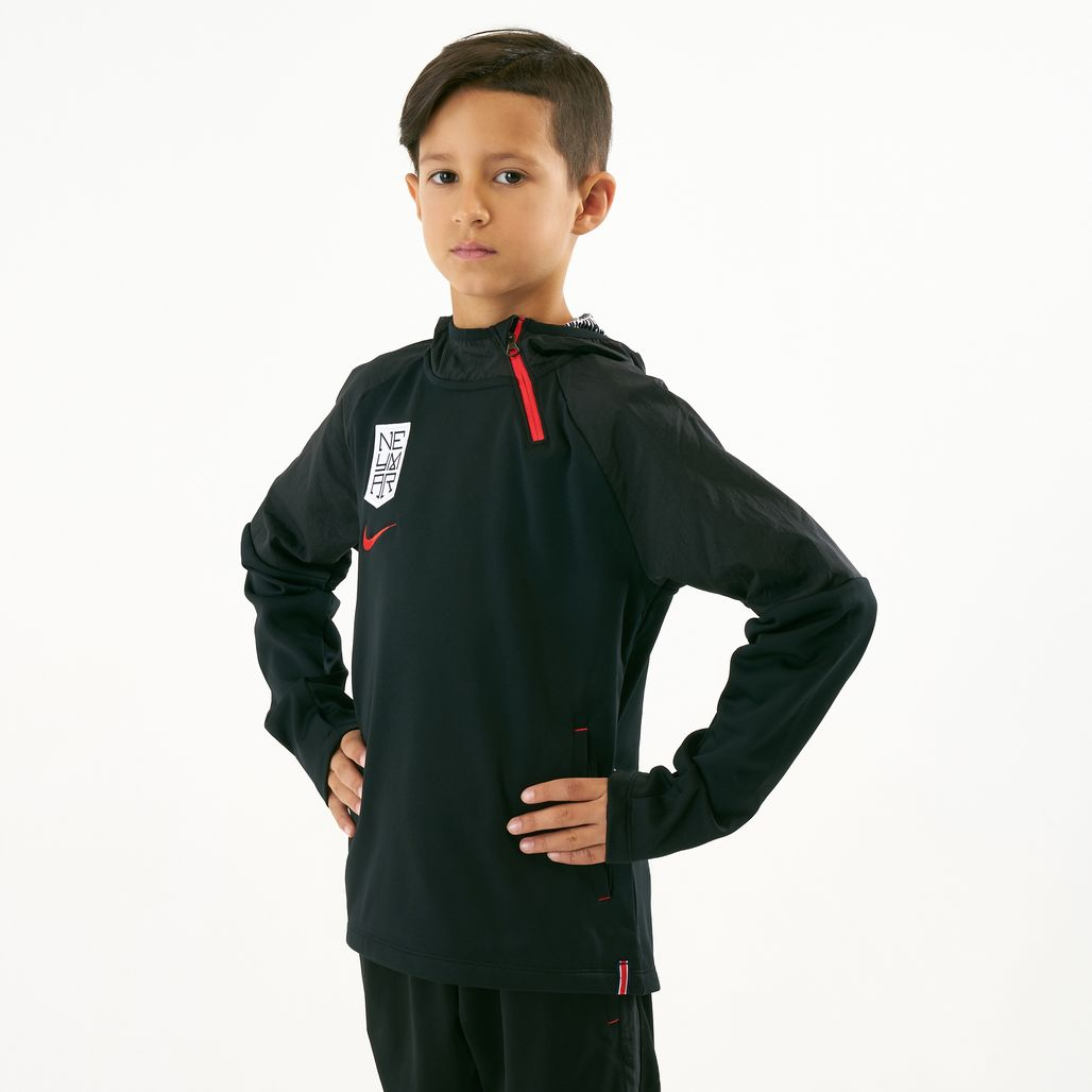 Nike Kids' Dri-FIT Neymar Jr Football Quarter Zip Hoodie (Older Kids)
