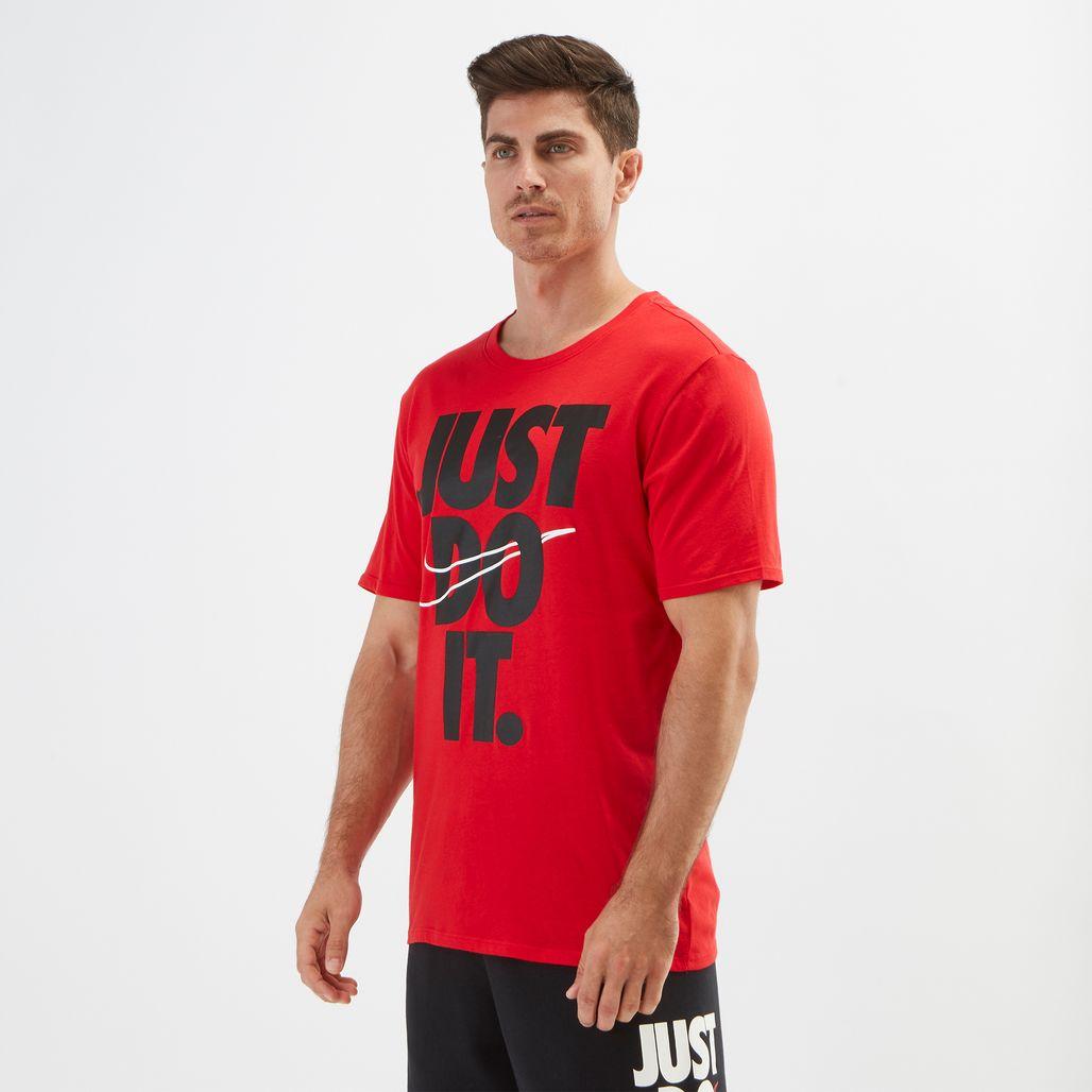 Nike Sportswear Hybrid Just Do It T-Shirt
