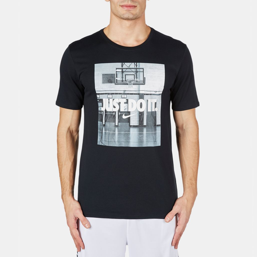 "Nike ""Just Do It"" Image T-Shirt"