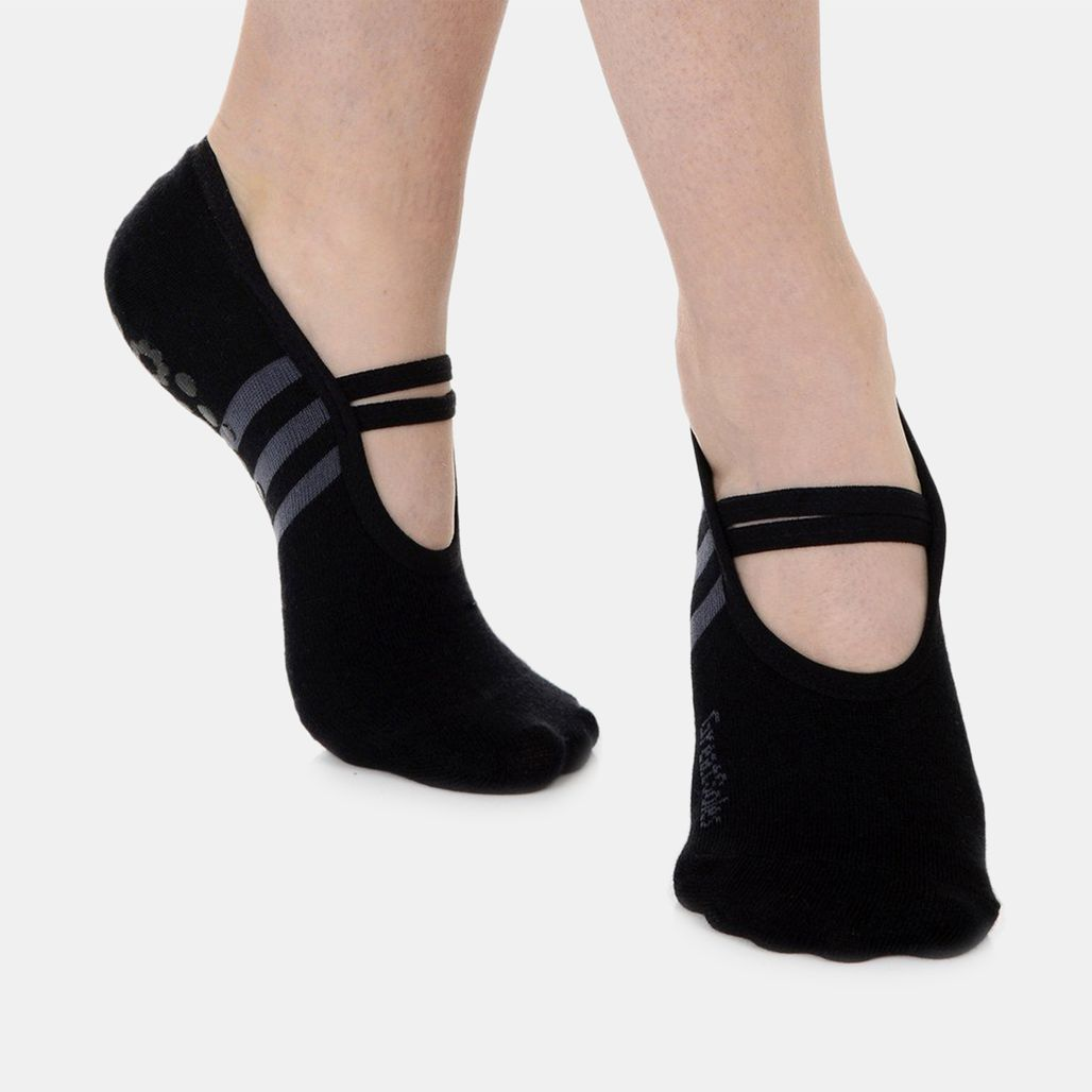 Great Soles Women's Ballet Grip Socks - Black